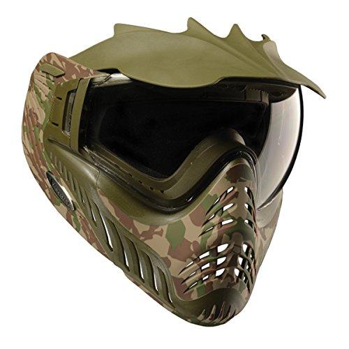V-FORCE Profiler LTD Thermal Lense Paintball Mask / Goggles - Woodland Camo