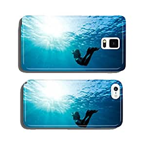 girl swimming underwater cell phone cover case iPhone6 Plus
