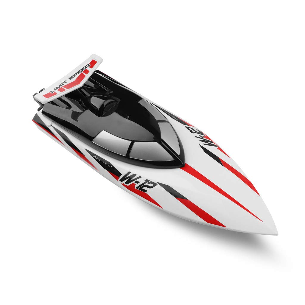 Starwak WLTOYS 912-A-YW 35 MPH High Speed Remote Control Electric RC Racing Boat for Pools and Lakes, Double Layer Waterproof 150M Long Control Distance RC with Cooling Water System,Kids Gift by Starwak
