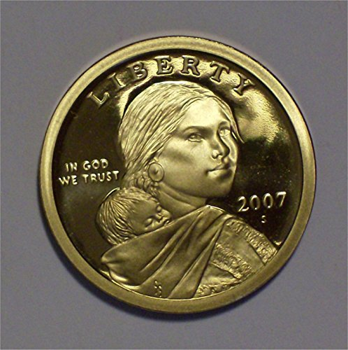2007 S Sacagawea Gem Proof Dollar PF-1 US Mint UCAM
