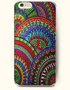 SevenArc New Apple iphone 6 Plus(5.5inch) Hard Back Case - MANDALA CIRCLE - Colorful Exquisite Mandala Pattern