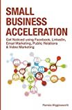 img - for Small Business Acceleration: Get Noticed using Facebook, LinkedIn, Email Marketing, Public Relations & Video Marketing by Pamela Wigglesworth (2014-11-03) book / textbook / text book