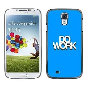 SAMSUNG Galaxy S4 IV / i9500 / i9515 / i9505G / SGH-i337 , Radio-Star - Cáscara Funda Case Caso De Plástico (Do Works)