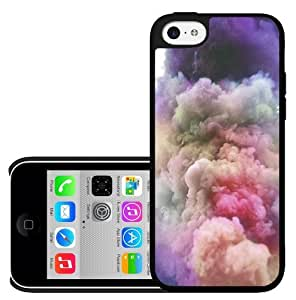 Colorful Cloudy Skies Hard Snap on Phone Case (iPhone 5c)