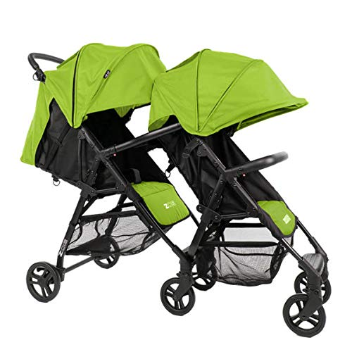 ZOE XL1 Best Tandem Lightweight Travel Everyday Umbrella Stroller System