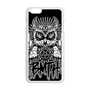 Happy King owl BMTH Cell Phone Case for Iphone 6 Plus