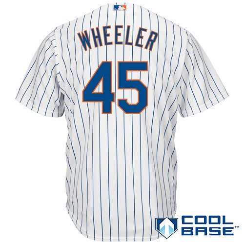 Majestic Athletic New York Mets Zack Wheeler 2015 Cool Base Home Jersey Xx Large