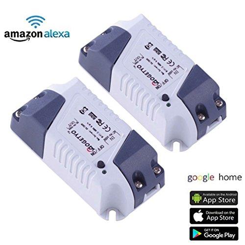 PASS: Smart Home WiFi Fernbedienung Drahtlos Strom Schalter Switch ...