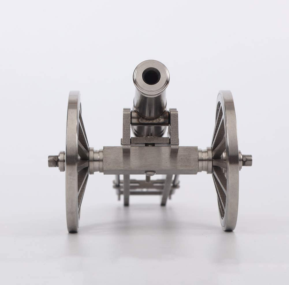 Shootingtoy Mini Stainless Steel 18th Century Naval Warship Cannon