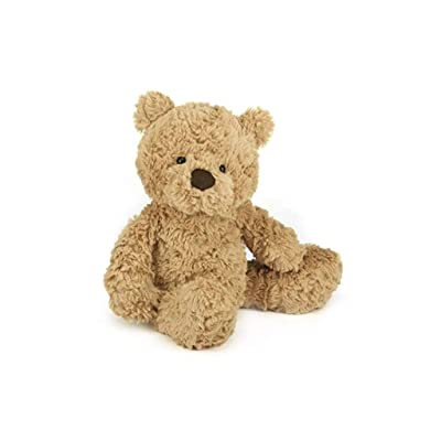 Jellycat Bumbly Bear Stuffed Animal, Small, 12 inches: Toys & Games