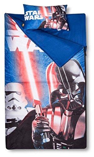 Disney Star Wars 2 Piece Sleepover Set - Sleeping Bag & Pillow