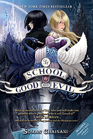 book cover of The School for Good and Evil