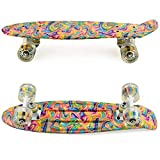 Meketec Skateboard Dog 22 inch Retro Mini