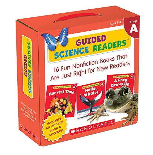 Guided Science Readers Parent Pack: Level A: 16 Fun Nonfiction Books That Are Just Right for New Readers (Words That Start With Short U Vowel Sound)
