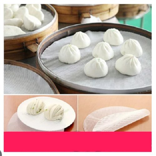UDTEE 2PCS High Quality Flexible Silicone Steamer Mat/Liner/Paper