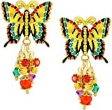Lunch at The Ritz 2GO USA Summer Garden Earrings Posts