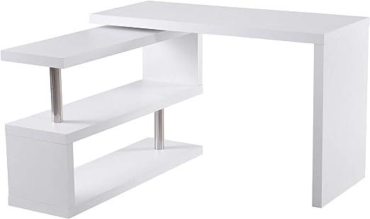 Eckschreibtisch Schreibtisch Computertisch Drehbar Bürotisch Winkel L-Form Tisch