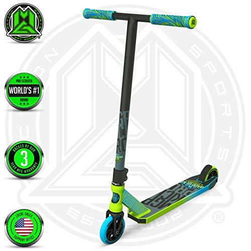 Madd Gear MGP Action Sports Kick Pro Scooter (Green/Blue 2019)