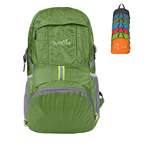 Best Lightweight: Sumtree Lightweight Foldable Packable Backpack