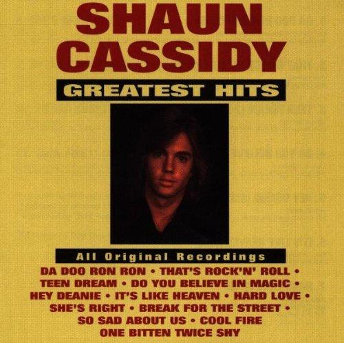 Shaun Cassidy: Greatest Hits by Shaun Cassidy (1992-07-14)