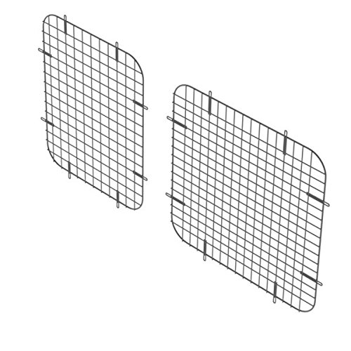 American Truck Equipment Ranger Design Set of 2 side window grills, steel wire painted black, GM Savana/Express (Best Window Grill Design)