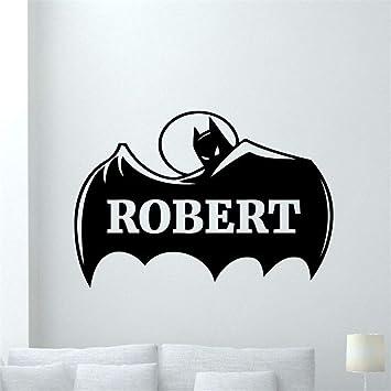 pegatina de pared frases Batman Tatuajes de Pared Etiqueta ...