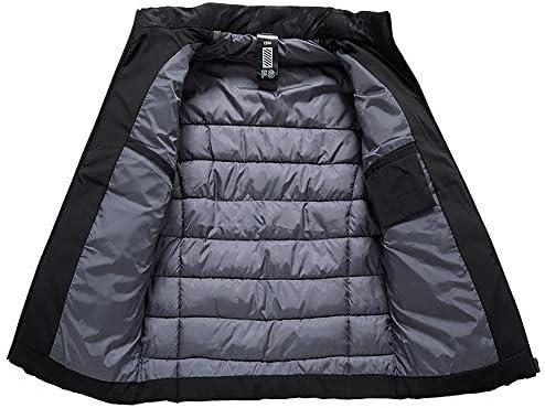 Cappotto da Uomo vestibilità Slim Spessa Invernale Corta Lite Jacket Design Casual con Colletto alla Coreana Giacca Uomo Adatto a Persone di Mezza età, Uomini d\'Affari O papà  NmLg7