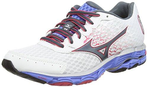 MizunoWave Inspire 11 - Zapatillas de correr mujer Blanco / Negro
