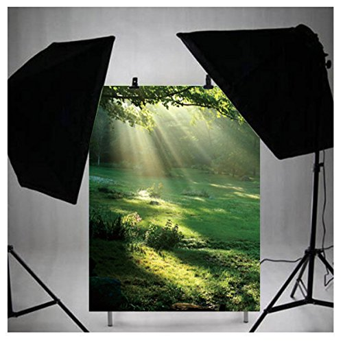 LB 3x5ft Nature Scenery Poly Fabric Photography Background Customized Photography Backdrop Studio Prop M-36