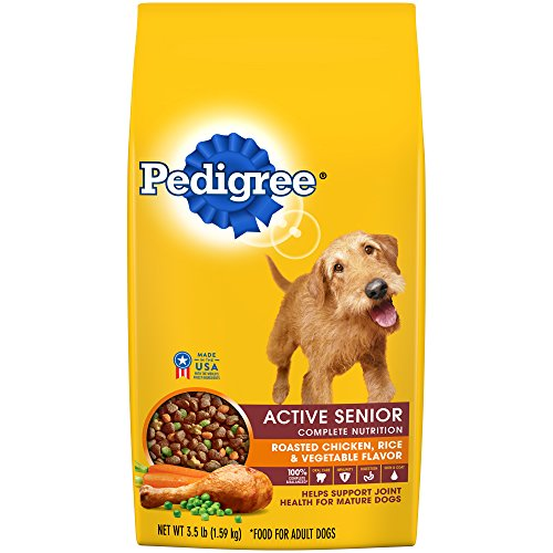 Active Care Dog Food (PEDIGREE Active Senior Roasted Chicken, Rice & Vegetable Flavor Dry Dog Food 3.5)