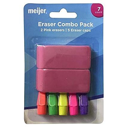 Beau Meijer Eraser Combo Pack, 7ct Blister Pack