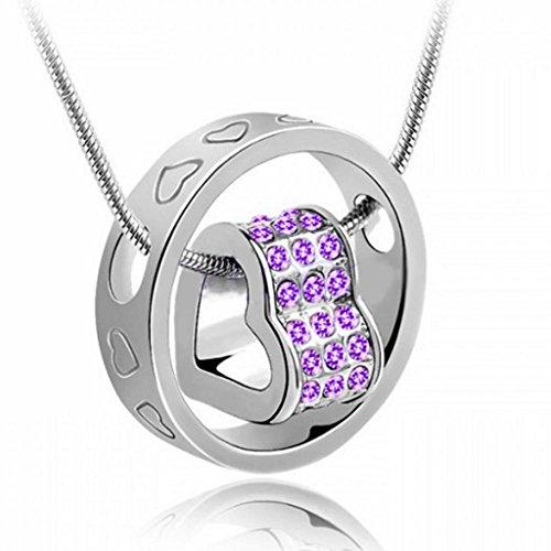 charming-crystal-rhinestone-love-heart-ring-necklace-pendant-chain-gift-love-token-purple