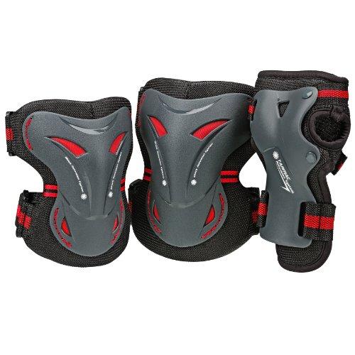 BoneShieldz Tarmac 360 Tri Pack Protective Pads, Large ()