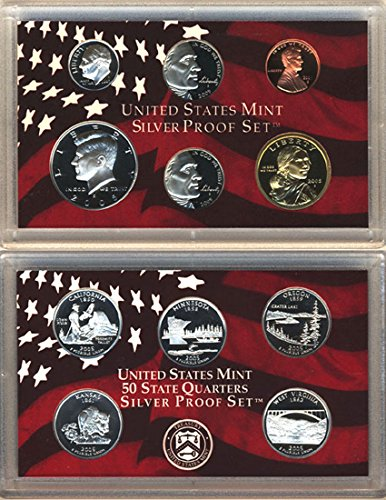 2005 Silver Proof Set with original packaging and ()
