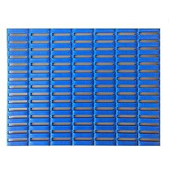 Image of Floor Mats & Matting Mats Inc. Slip Safe Mats, 3'x16.5, Blue