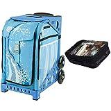 Zuca Wonderland Sport Insert Bag & Blue Frame + Gift Utility Pouch