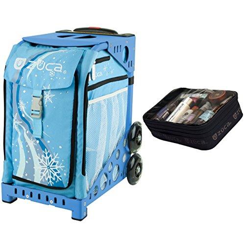 Zuca Wonderland Sport Insert Bag & Blue Frame + Gift Utility Pouch by ZUCA