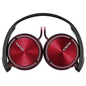Sony Foldable Headphones MDR-ZX310 R - Metallic Red