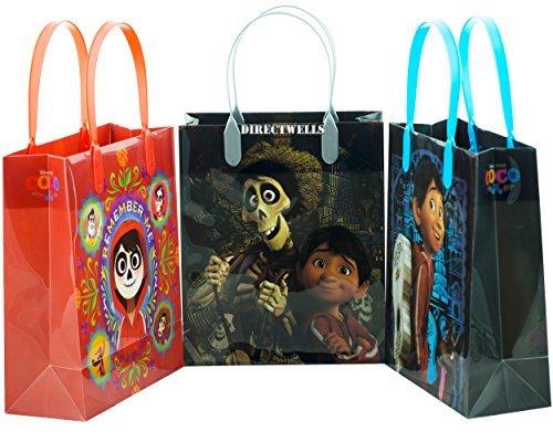 (Disney Coco Remember Me 12 Reusable Goodie Medium Gift Bags)