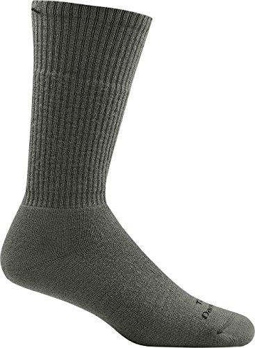 Darn Tough Tactical Boot Full Cushion Socks ( T4022 ) Unisex (Foliage Green, Large)