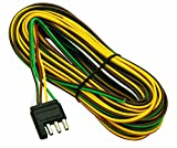 5 wire trailer harness - Wesbar 707261 Wishbone Style Trailer Wiring Harness with 4-Flat Connector