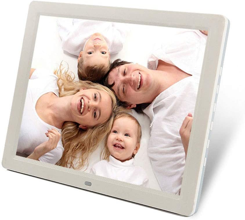 Xiejuanjuan Digital Picture Frame with IPS Display Ultra-Thin Narrow 12 Inch Digital Picture Frame 1024768 Pixels High Resolution High Resolution LED Screen USB and SD Card Slots