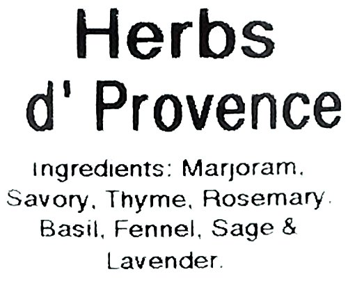 9 Ounce Herbes de Provence with Lavender Herbs Seasoning Spice Blend Salted Salad