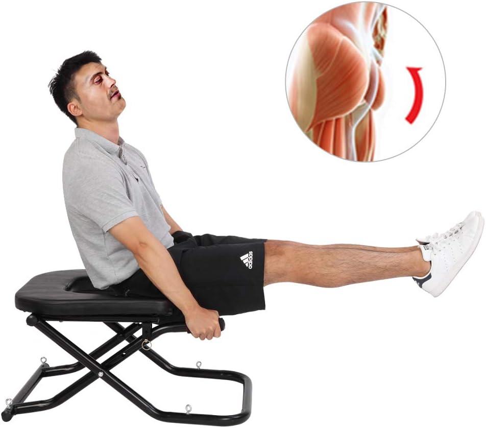 【uns Stock】 Yoga Inversion Bench Headstand Prop Upside Down Chair für Feet nach oben und Balance Training Core Strength Building