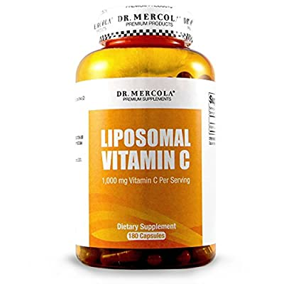 Dr. Mercola Liposomal Vitamin C 1,000mg per Serving - Antioxidant Supplement with Higher Bioavailability Potential & Immune System Support