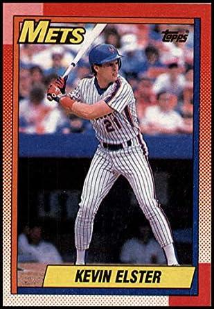 Amazon com: 1990 Topps Baseball #734 Kevin Elster New York