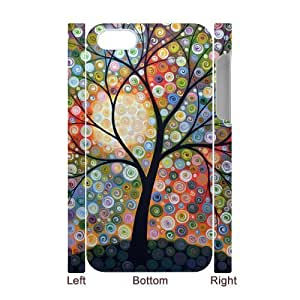 Customized Durable Case for Iphone 4,4S 3D, Abstract Painting Phone Case - HL-R639907