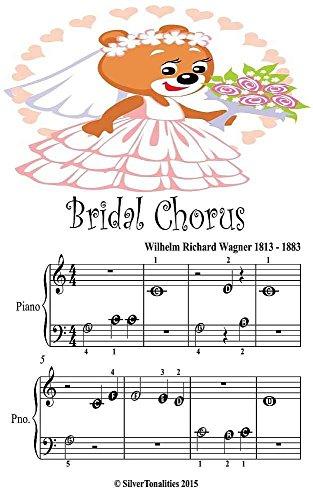 Bridal Chorus Beginner Tost Piano Sheet Music