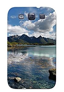Galaxy S3 Case Bumper Tpu Skin Cover For Lake In Norway Accessories by lolosakes