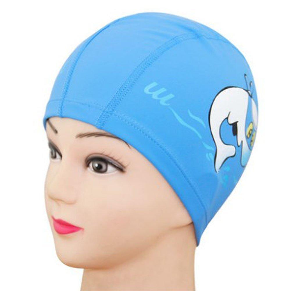 XBY.mi 1PCS Cuffia da nuoto impermeabile per bambini( blu )